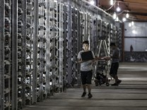 FILE: Bitcoin Soars In Value