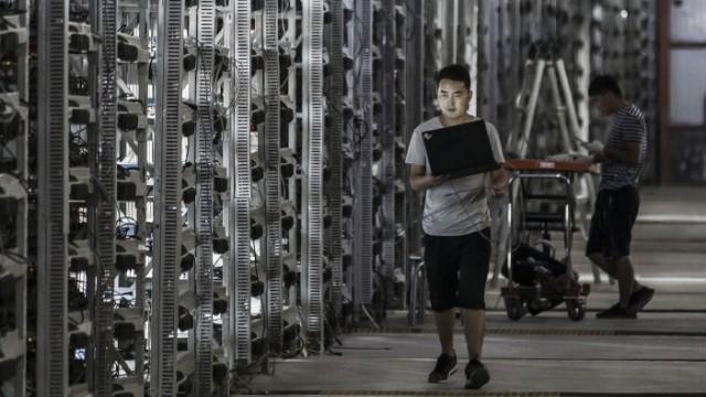 FILE: Bitcoin Soars In Value