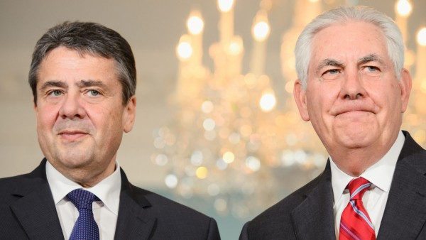 Außenminister Sigmar Gabriel in Washington