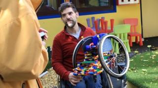 Für Die Kleinen Putzig Und Bunt. Kinder Rollstühle