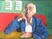 """G. Wangerin """"Fremd ist der Fremde nur in der Fremde - Karl Valentin"""" Gastarbeiter Antonio F., 94"""
