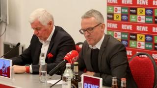 1. FC Köln - Pressekonferenz