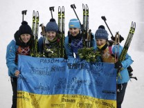 Biathlon - Winter Olympics Day 14; semerenko