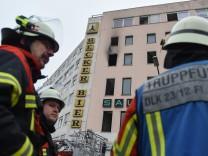 Vier Tote bei Brand in Saarbrücken