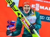 02 12 2017 Nordic Center Nizhny Tagil RUS FIS Weltcup Ski Sprung Nizhny Tagil im Bild Richard; freitag