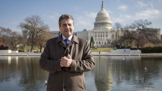 Außenminister Gabriel in Washington