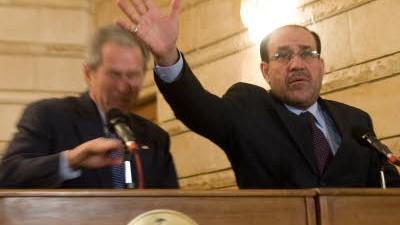 Bei Abschiedsbesuch im Irak