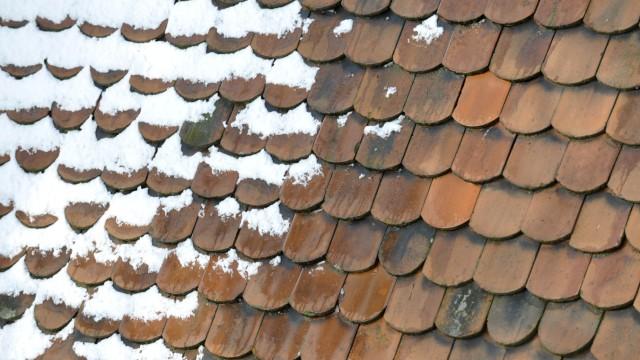 Dach der Kirche St. Paul in München, 2012