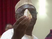 706-Karat-Diamant aus Sierra Leone in New York versteigert