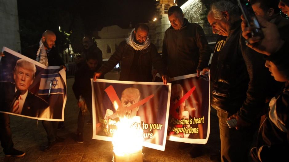 Palästinenser kündigen drei Tage des Zorns an