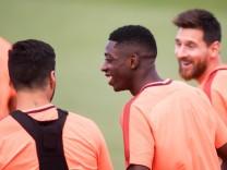 FC Barcelona Training Session; Ousmane Dembélé im Training des FC Barcelona