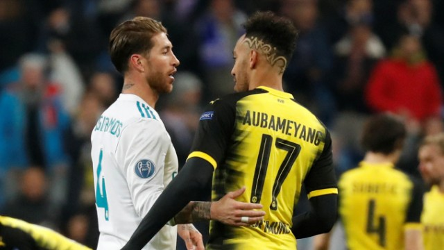 Champions League - Real Madrid vs Borussia Dortmund