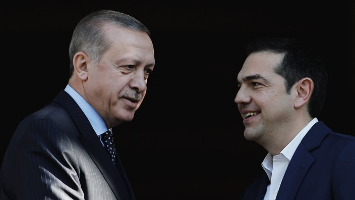 Turkish President Tayyip Erdogan visits Greece