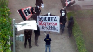 """Journalismus Angriff auf """"La Repubblica"""""""