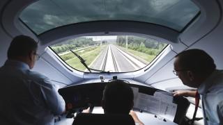 Testfahrt ICE-Sprinter auf Neubaustrecke Erfurt - Bamberg