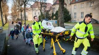 München: Klinikum Schwabing, Schwerbrandverletzten Zentrum, Tag des schwerbrandverletzten Kindes.