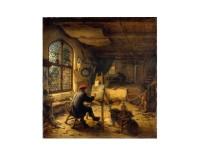Atelierszene von Adriaen van Ostade