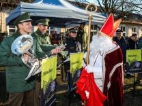 Weihnachtsmarkt Bereitschaftspolizei