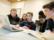 digitaler Unterricht, Serlo Lab School, Wilhelm-Busch-Realschule (Krehlebogen 16)