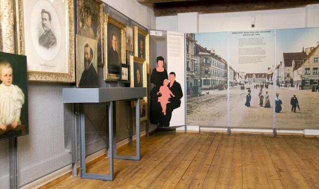 Bruck: Bruck um 1900 - Neuordnung STADTMUSEUM
