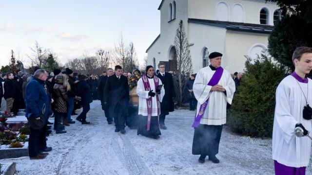 Ewald Schurer Trauerfeier und Beerdigung