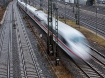 Eröffnung der Schnellfahrstrecke München - Berlin Deutsche Bahn ICE