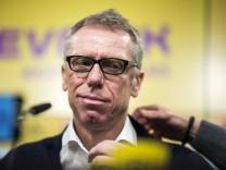 Fussball 1 Bundesliga Saison 2017 2018 Pressekonferenz von Borussia Dortmund am 10 12 2017 im Si
