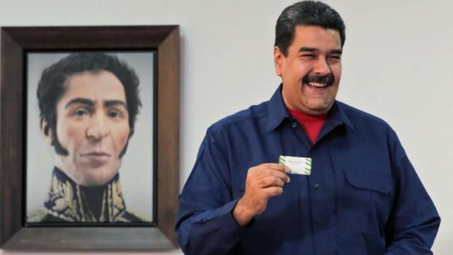 Politik Venezuela Krise in Venezuela