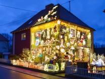 Weihnachtsbeleuchtung im Saarland