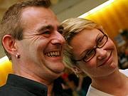 Buntes Treiben der Linken in Hessen: Betteln und swingen, dpa