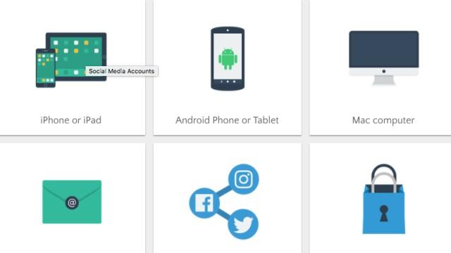 SECURITY PLANNER Handy Smartphone Sicherheit webseite