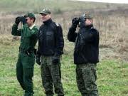 Deutsche und polnische Grenzschützer, dpa