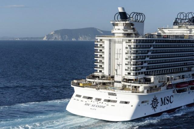 """Per Zipline über das Pooldeck - Neues Schiff ´MSC Seaside"""""""