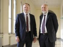 v li Prof Dr Clemens Fuest Praesident des ifo Instituts mit Prof Dr Dr h c mult Hans Werner S