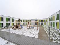 Flüchtlingsunterkunft in München, 2017