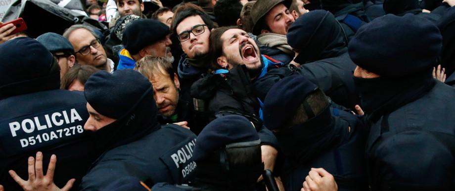 Politik Spanien Katalonien-Konflikt