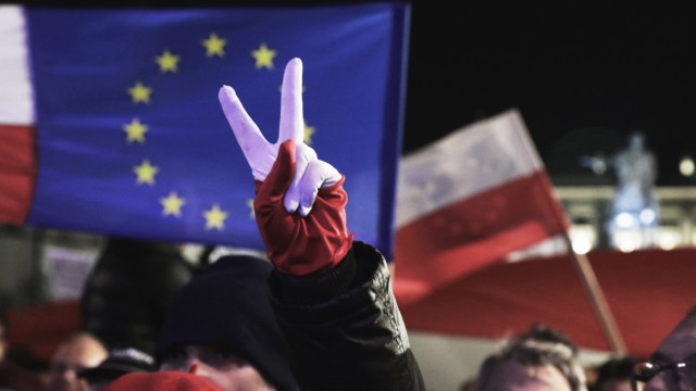 Proteste gegen Justizreform in Polen
