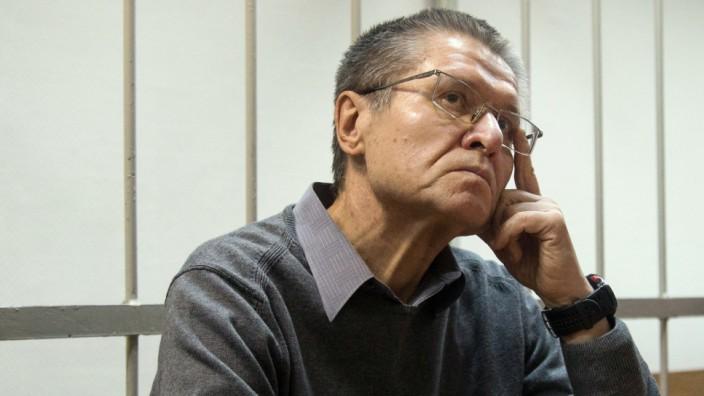 Alexej Uljukajew vor Gericht