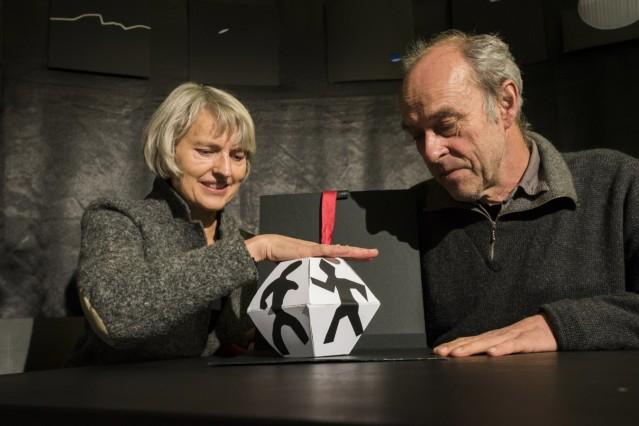 Pullach, München, Atelier in Untergiesing,Treffen mit Hedwig Rost und Jörg Baesecke