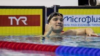 Schwimmen Kurzbahn EM Marius Kusch holt Bronze über 100m Schmetterling Herren LEN European Short C