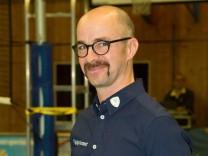 Alexander Hezareh Cheftrainer des TSV Grafing Volleyball