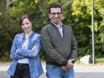 Clara Lipkowski, Aladdin Almasri. Projekt Newscomer, das geflüchtete Journalisten in den Lokaljournalismus bringt