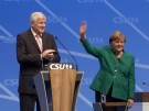 Merkel und Seehofer demonstrieren Harmonie (Vorschaubild)