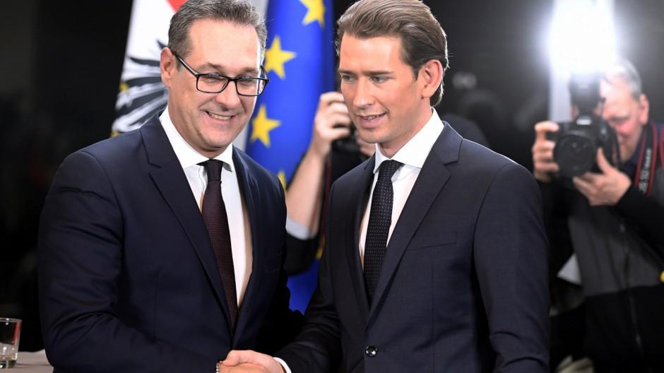 Österreichs neue Regierung bekennt sich zu Europa