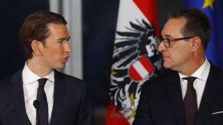 Österreichs Bundeskanzler Sebastian Kurz und FPÖ-Chef Heinz-Christian Strache