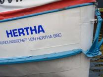 Hertha-Gründungsschiff zurück in Berlin