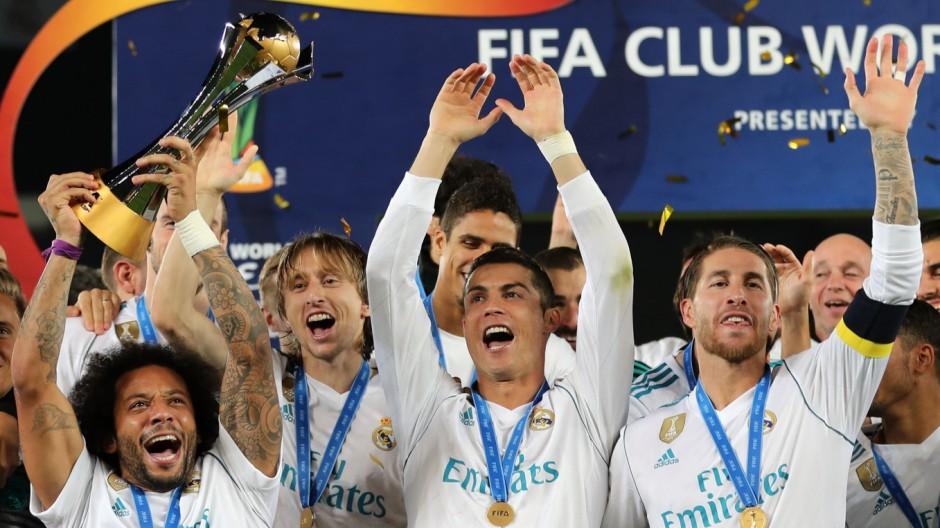 Fußball: Real Madrid ist erneut Klub-Weltmeister