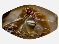 Combat Agate from the Grave of the Griffin Warrior at Pylos