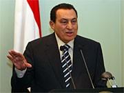 Hosni Mubarak; AFP