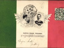 Lied Vittorio Emanuele III König Viktor Emanuel III von Italien Elena